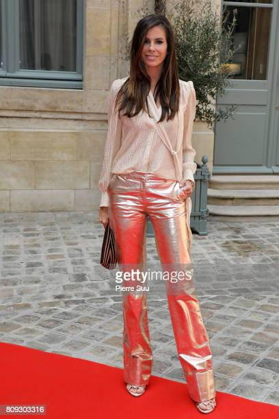 Christina Pitanguy attends the Gyunel Haute Couture Fall/Winter 20172018 show as part of Haute Couture Paris Fashion Week on July 5 2017 in Paris...