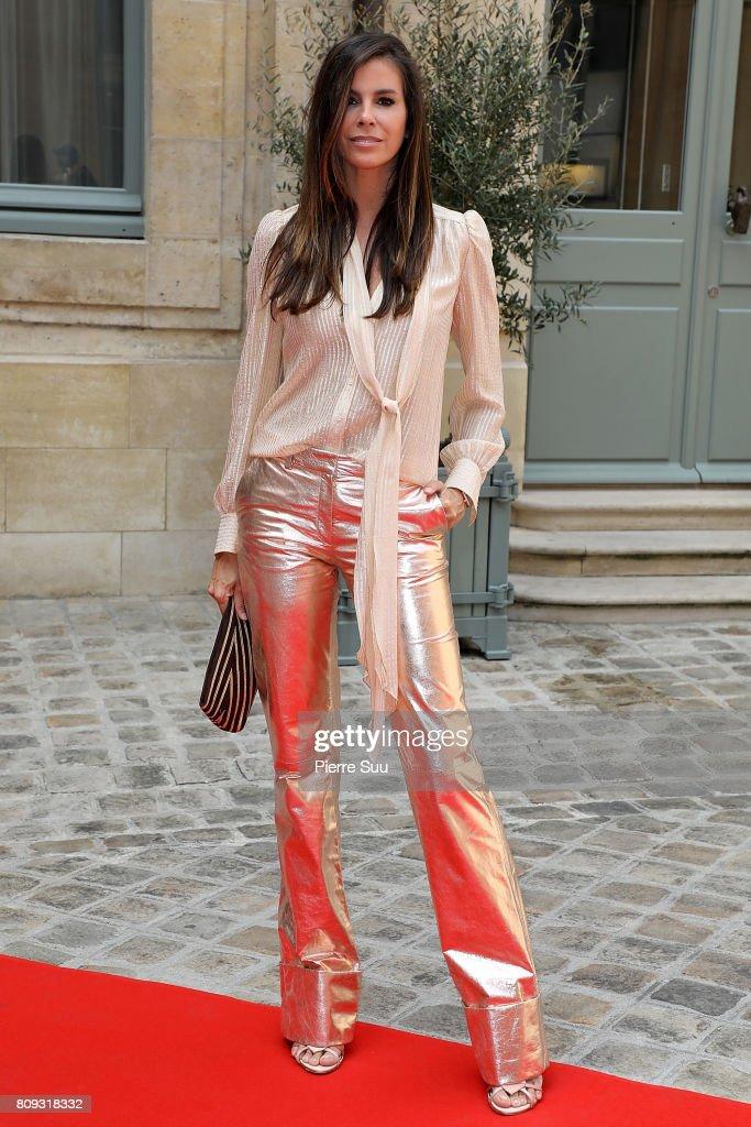 Gyunel : Front Row - Paris Fashion Week - Haute Couture Fall/Winter 2017-2018