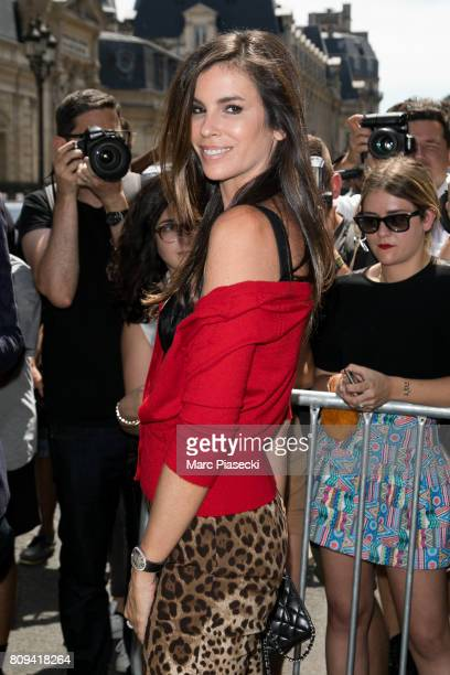 Christina Pitanguy attends the Jean Paul Gaultier Haute Couture Fall/Winter 20172018 show as part of Paris Fashion Week on July 5 2017 in Paris France