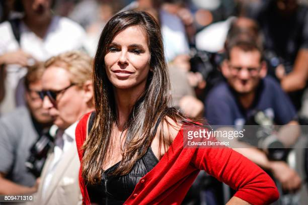 Christina Pitanguy attends the Jean Paul Gaultier show during Paris Fashion Week Haute Couture Fall Winter 2017/2018 on July 5 2017 in Paris France