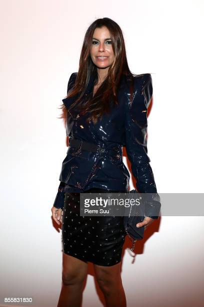 Christina Pitanguy attends the Mugler show as part of the Paris Fashion Week Womenswear Spring/Summer 2018 on September 30 2017 in Paris France