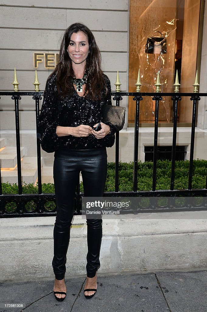 Christina Pitanguy attends the opening of Fendi's new boutique at 51 Avenue Montaine on July 3, 2013 in Paris, France.