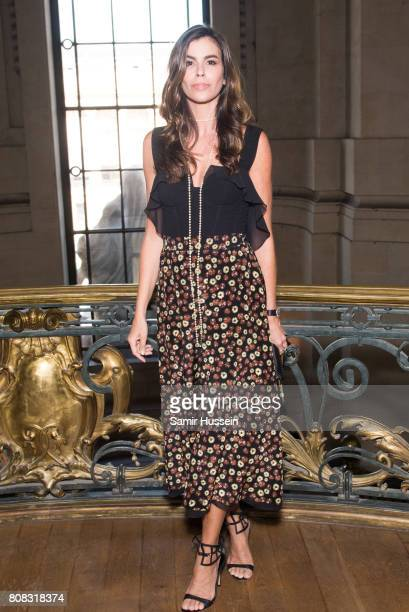 Christina Pitanguy attends the Ralph Russo Haute Couture Fall/Winter 20172018 show as part of Haute Couture Paris Fashion Week on July 3 2017 in...