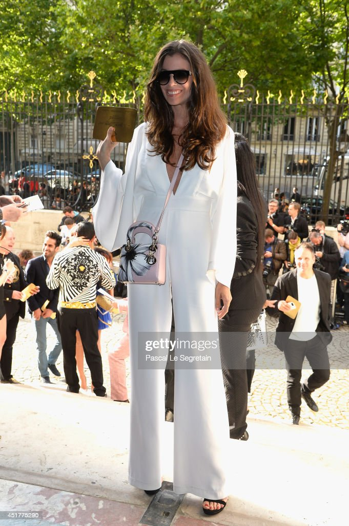 <a gi-track='captionPersonalityLinkClicked' href=/galleries/search?phrase=Christina+Pitanguy&family=editorial&specificpeople=9519997 ng-click='$event.stopPropagation()'>Christina Pitanguy</a> attends the Versace show as part of Paris Fashion Week - Haute Couture Fall/Winter 2014-2015 on July 6, 2014 in Paris, France.