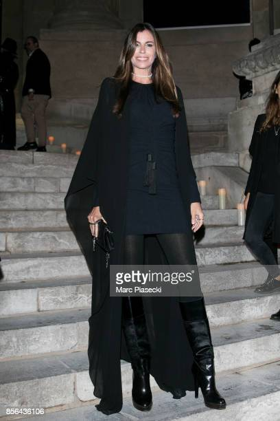 Christina Pitanguy attends Vogue Party as part of the Paris Fashion Week Womenswear Spring/Summer 2018 at on October 1 2017 in Paris France
