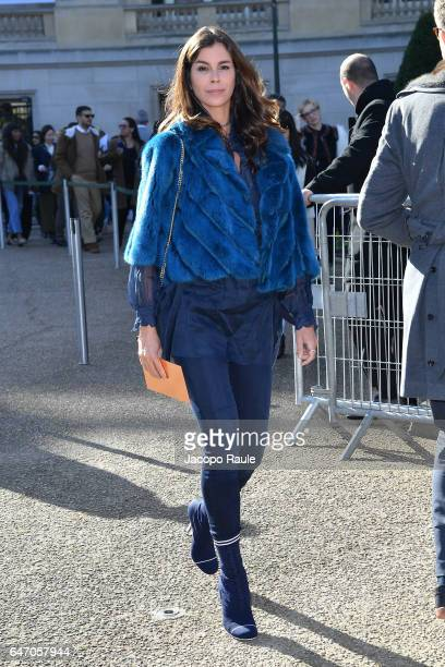 Christina Pitanguy is seen arriving at Chloe fashion show during the Paris Fashion Week Womenswear Fall/Winter 2017/2018 on March 2 2017 in Paris...