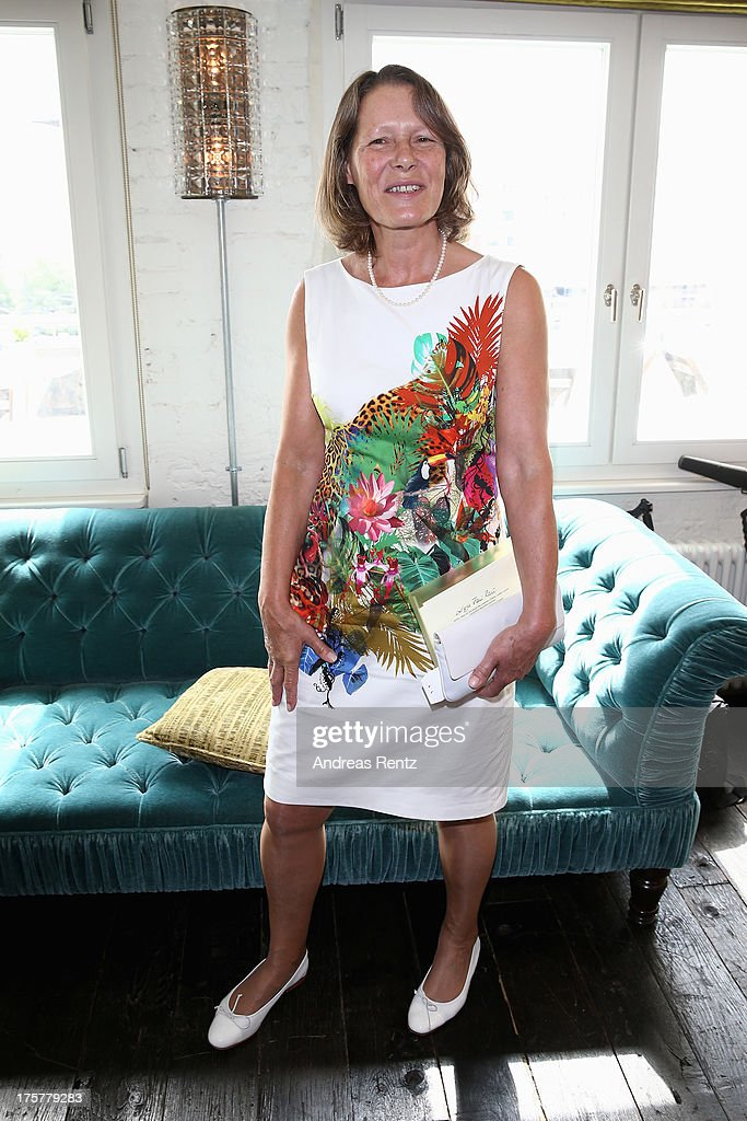 Christina Rau attends the DKMS LIFE Charity Ladies lunch at Soho House on August 8, 2013 in Berlin, Germany.