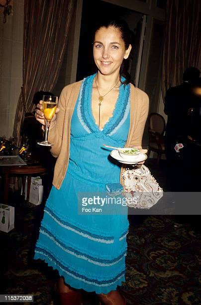 Christina Reali during Brazilian Jewelry Launch Party January 18 2005 at Bristol Hotel in Paris France