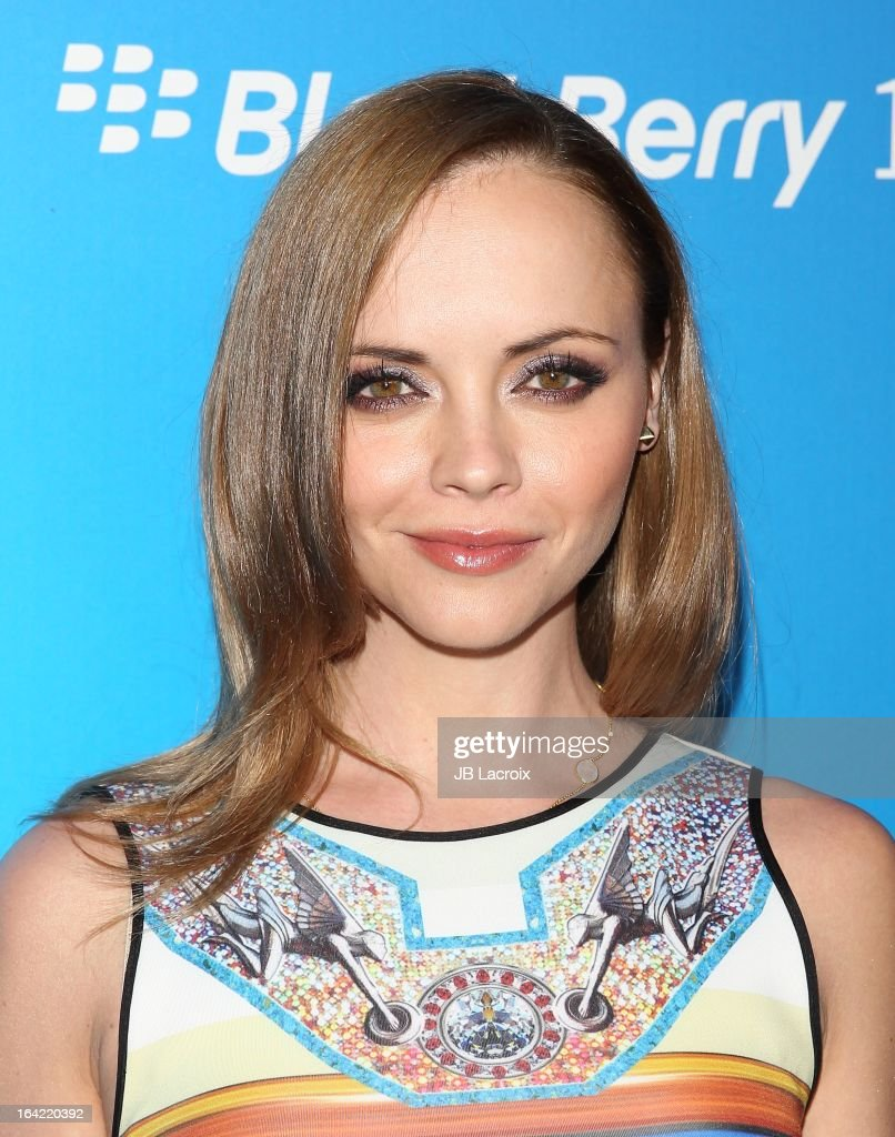 Christina Ricci attends the BlackBerry Z10 Smartphone launch party held at at Cecconi's Restaurant on March 20, 2013 in Los Angeles, California.