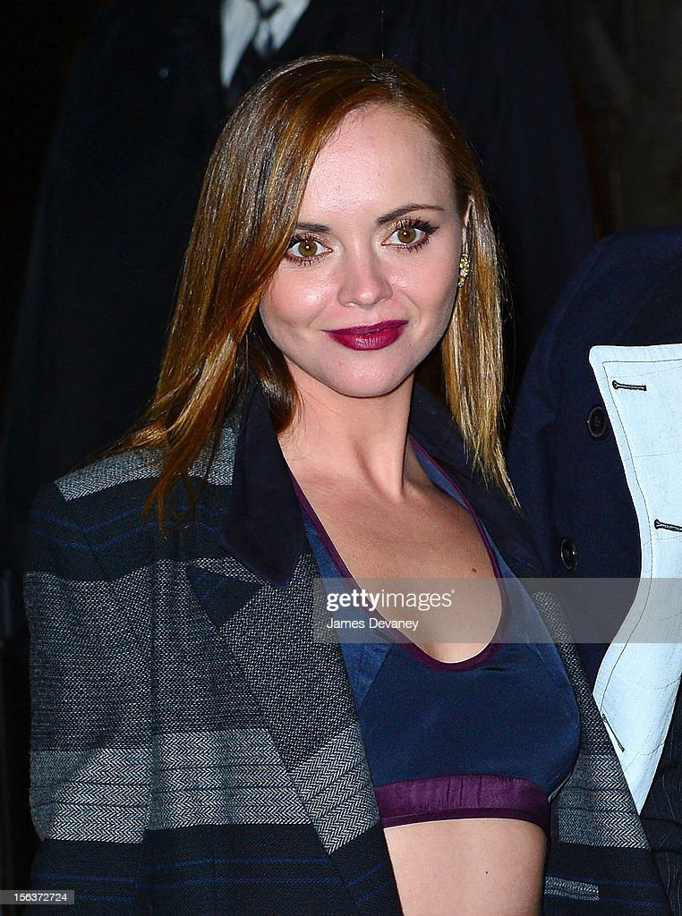 Christina Ricci attends The Ninth Annual CFDA/Vogue Fashion Fund Awards at 548 West 22nd Street on November 13, 2012 in New York City.