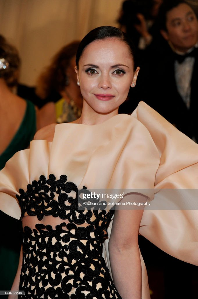 Christina Ricci attends the 'Schiaparelli And Prada: Impossible Conversations' Costume Institute Gala at the Metropolitan Museum of Art on May 7, 2012 in New York City.