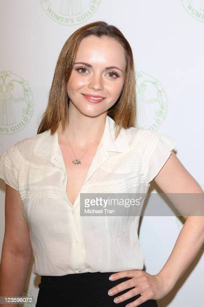 Christina Ricci attends The Women's Guild annual membership luncheon held at The Beverly Hills Hotel on May 13 2011 in Beverly Hills California