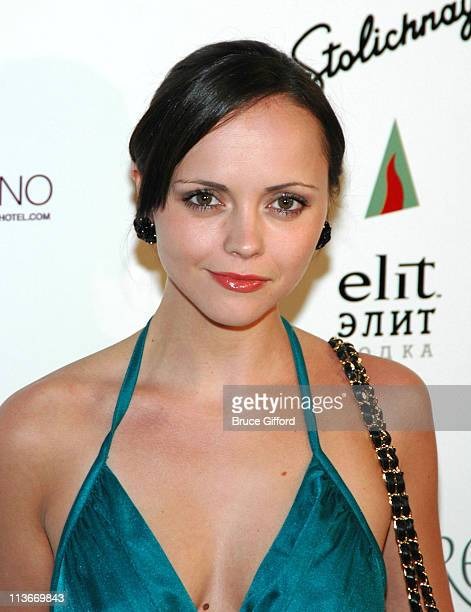 Christina Ricci during 2006 CineVegas Day 8 Honoree's Reception At The Hard Rock Hotel Casino at Hard Rock Hotel Casino in Las Vegas Nevada United...