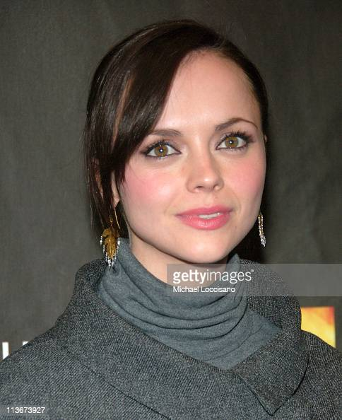 Christina Ricci during 2007 Sundance Film Festival 'Black Snake Moan' Premiere at Eccles in Park City Utah United States