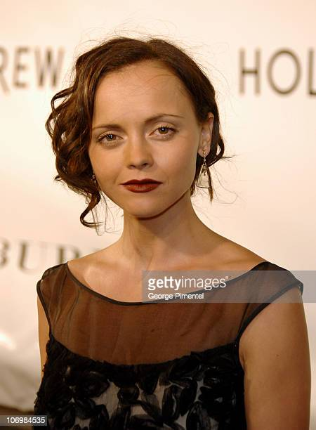 Christina Ricci during 31st Annual Toronto International Film Festival Holt Renfrew Presents Burberry at the Toronto Film Festival at Holt Renfrew in...
