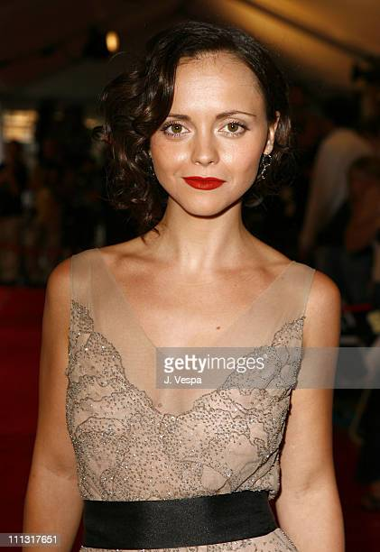Christina Ricci during 31st Annual Toronto International Film Festival 'Penelope' Premiere Red Carpet at Roy Thompson Hall in Toronto Canada