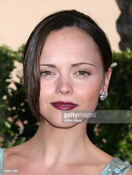 Christina Ricci during 58th Annual Creative Arts Emmy Awards Arrivals at Shrine Auditorium in Los Angeles California United States