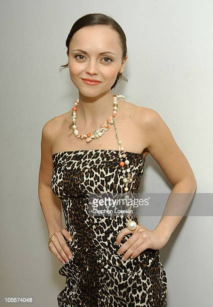 Christina Ricci during Christina Ricci and Amanda Bynes Visit MTV's 'TRL' February 24 2005 at MTV Studios in New York City New York United States