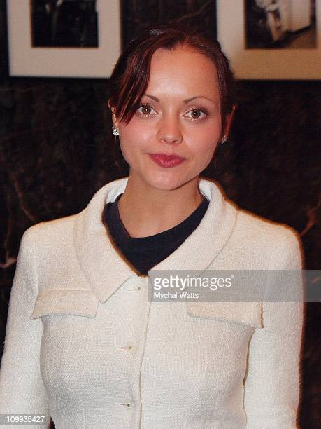Christina Ricci during Pumpkin VIP Screening with Christina Ricci in New York City New York United States
