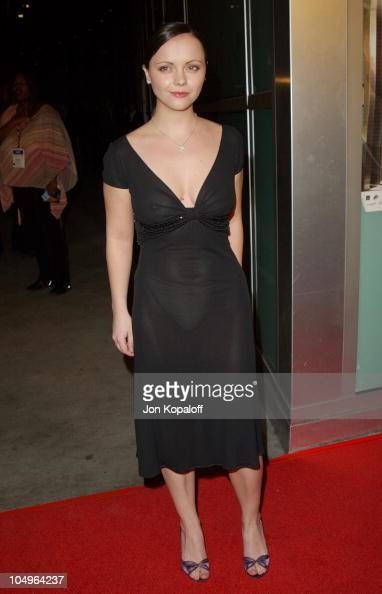 Christina Ricci during World Premiere of 'Monster' At The Closing Night of AFI Fest 2003 at The ArcLight Cinerama Dome in Hollywood California United...