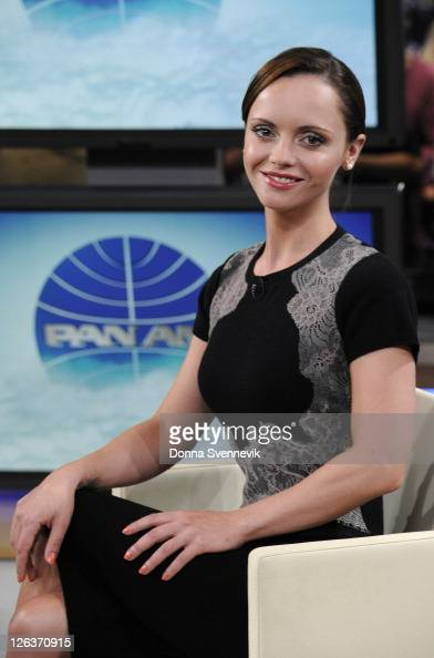 AMERICA Christina Ricci of ABC's 'Pan Am' appears on 'Good Morning America' 9/23/11 airing on the ABC Television NetworkCHRISTINA