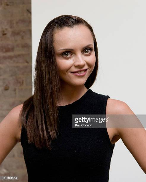 Christina Ricci poses for a photo during a RAINN fundraiser at the Navigator's Global on September 9 2009 in Washington DC