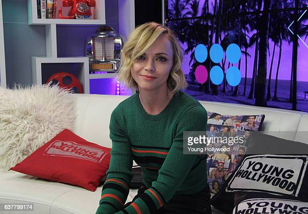 Christina Ricci visits the the Young Hollywood Studio on January 6 2017 in Los Angeles California