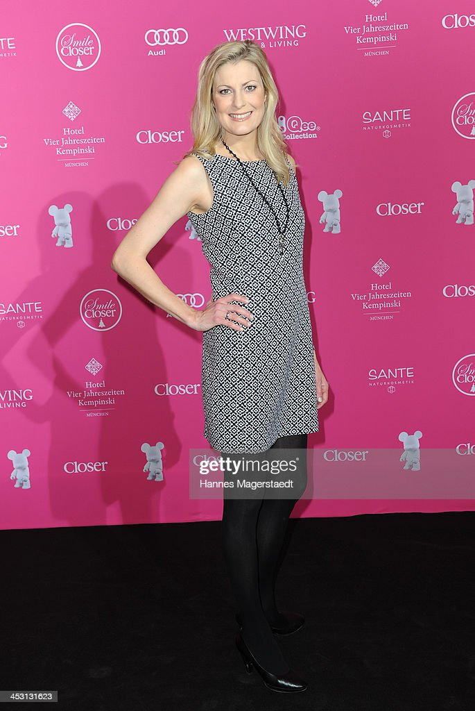 Christina Ringer attends the Closer Charity Event SMILE at Hotel Vier Jahreszeiten on December 2, 2013 in Munich, Germany.