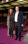 Christina Robert and Barnaby Thompson attend the screening of the new Annabel's DocuFilm 'A String of Naked Lightbulbs' at The Curzon Mayfair on...