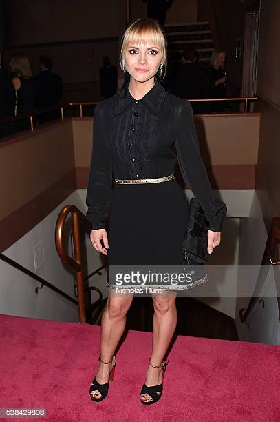 Christina Rucci attends the 2016 CFDA Fashion Awards at the Hammerstein Ballroom on June 6 2016 in New York City