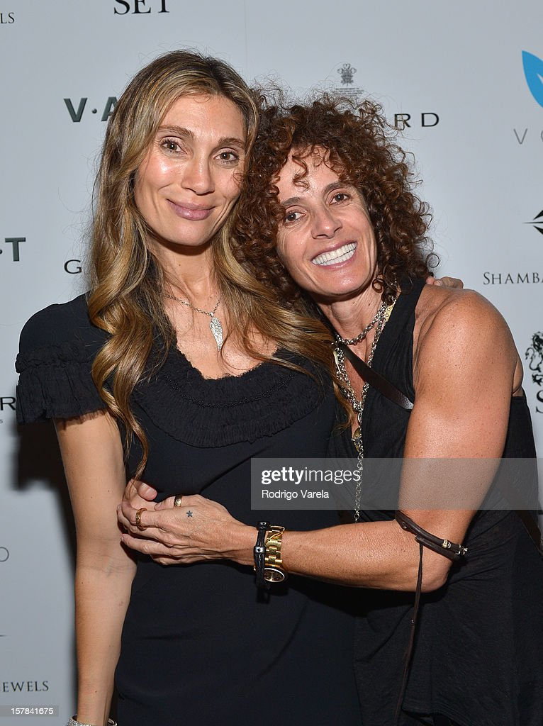 Christina Sands and Christina Nicoletti attend the V.A.U.L.T. Art Basel Party on December 6, 2012 in Miami, Florida.