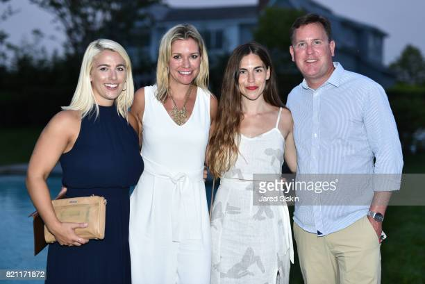 Christina Schmutz Michelle Newbery Hailee Francis and Even Newbery attend 2017 Hampton Designer Showhouse Gala Preview Cocktail Party at a Private...