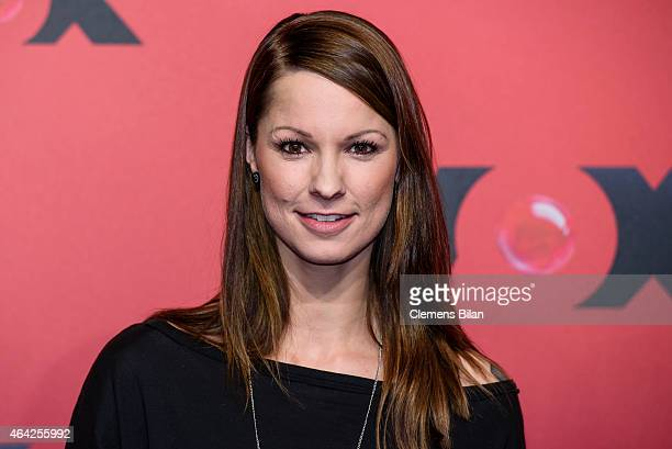 Christina Stuermer attends a photocall for the TV show 'Sing meinen Song' on February 23 2015 in Berlin Germany