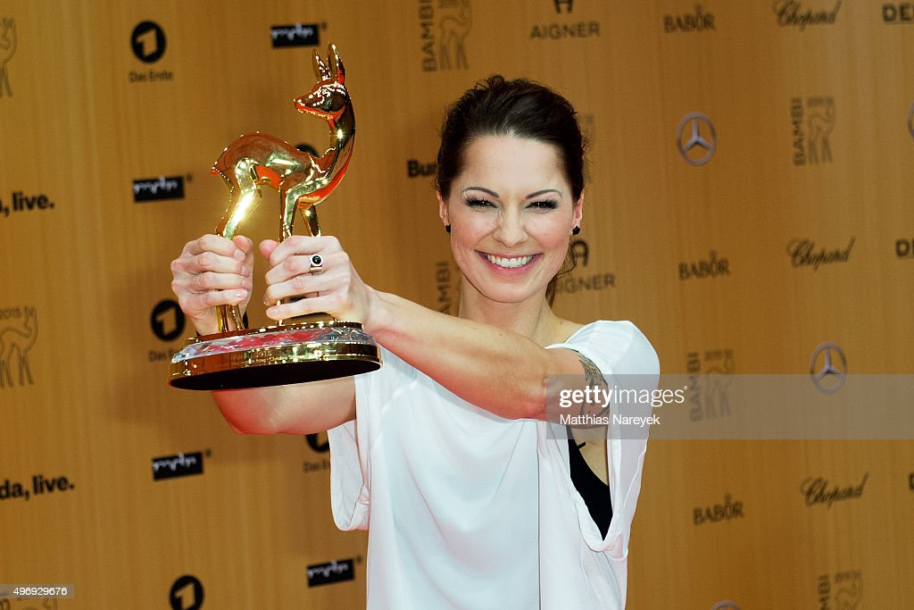 Christina Stuermer attends the Bambi Awards 2015 at Stage Theater on November 12, 2015 in Berlin, Germany.