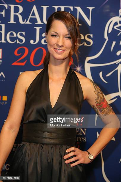 Christina Stuermer attends the Look Women Of The Year Awards 2015 at the city hall on November 17 2015 in Vienna Austria