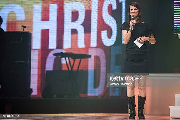 Christina Stuermer attends the Radio Regenbogen Award 2014 on April 11 2014 in Rust Germany