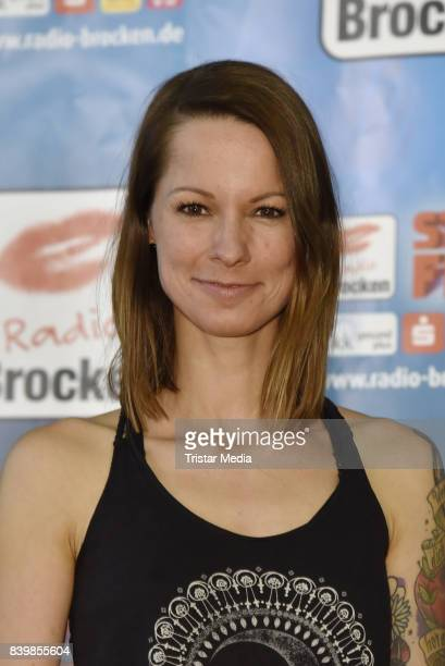 Christina Stuermer during the photo call at the 'Stars for free' event on August 27 2017 in Magdeburg Germany
