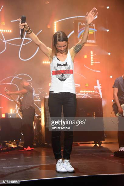 Christina Stuermer performs the Radio Regenbogen 'Musik@Park' Summerparty at Europapark on August 5 2017 in Rust Germany