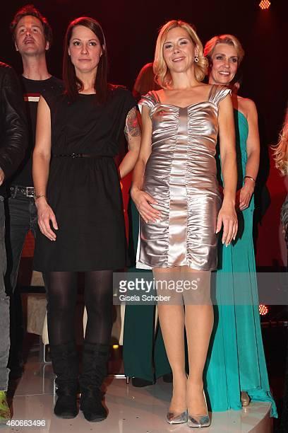 Christina Stuermer Tanja Szewczenko during the 20th Annual Jose Carreras Gala on December 18 2014 in Rust Germany