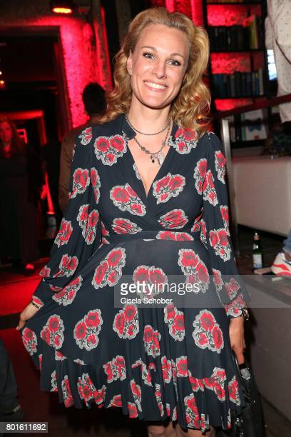MUNICH GERMANY JUNE 26 Christina Surer during the Movie meets Media Party during the Munich Film Festival on June 26 2017 in Munich Germany