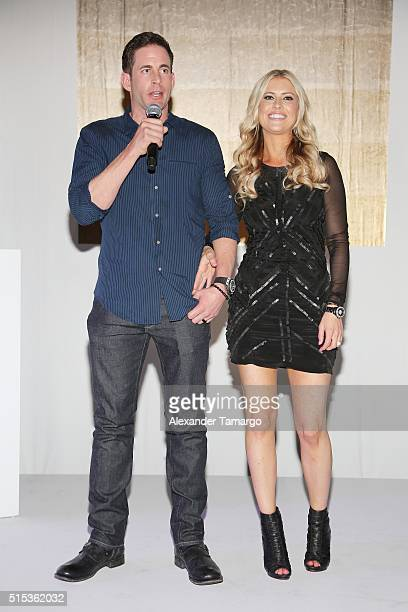 "Christina Tarek El Moussa of HGTV's ""Flip or Flop"" new North American brand attend the TREND Group and Granite Transformations global rebranding and..."