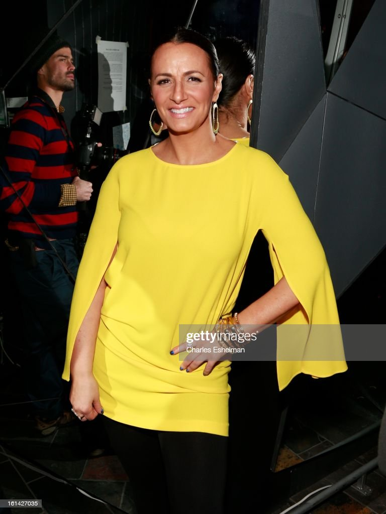 Christina Visca hosts the T @ Toy Party on February 10, 2013 in New York City.