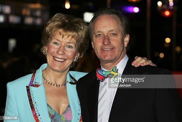 Christine and Neil Hamilton arrive at the UK film premiere of 'Dreamgirls' at the Odeon Leicester Square on January 21 2007 in London England