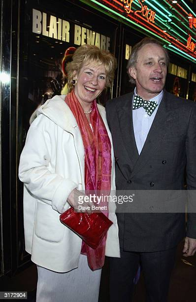 Christine and Neil Hamilton arrive for the Premiere of the movie 'Ali G The Movie' on March 19th 2002 at the Empire cinema Leicester Square in London