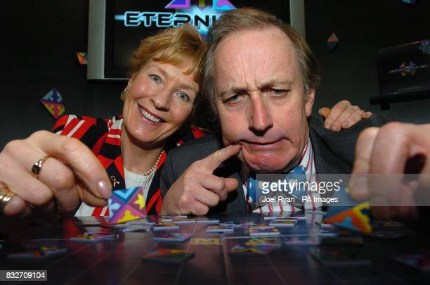 Christine and Neil Hamilton launch Eternity II a 209 piece puzzle that offers a $2 million USD prize to the first person to successfully complete it...