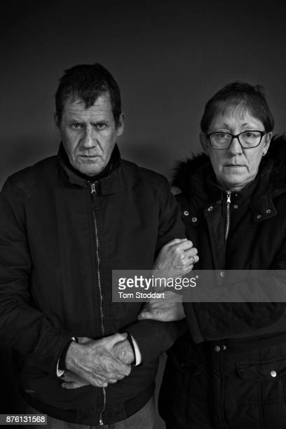 Christine and Paul pose for a picture on October 23 2017 in Newcastle upon Tyne England Christine says 'We lost our flat a few months ago and since...