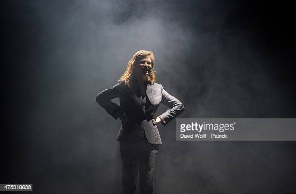 Christine and the Queens performs at We Love Green Festival on May 30 2015 in Paris France