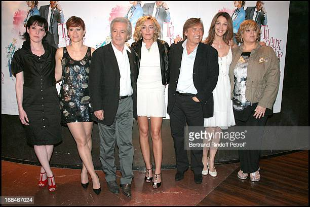 Christine Anglio Corinne Puget Pierre Arditi Juliette Arnaud Alexandre Arcady Linda Hardy Laurence Boccolini at Paris Premiere Of The Film Tu Peux...