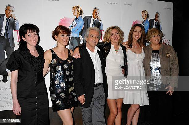 Christine Anglio Corinne Puget Pierre Arditi Juliette Arnaud Linda Hardy and Laurence Boccolini attend the premiere of 'Tu peux garder un secret' in...
