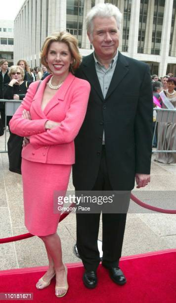 Christine Baranski and John Larroquette of the new show 'Happy Family'